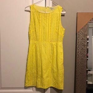 Made well yellow dress